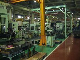 機械加工工程
